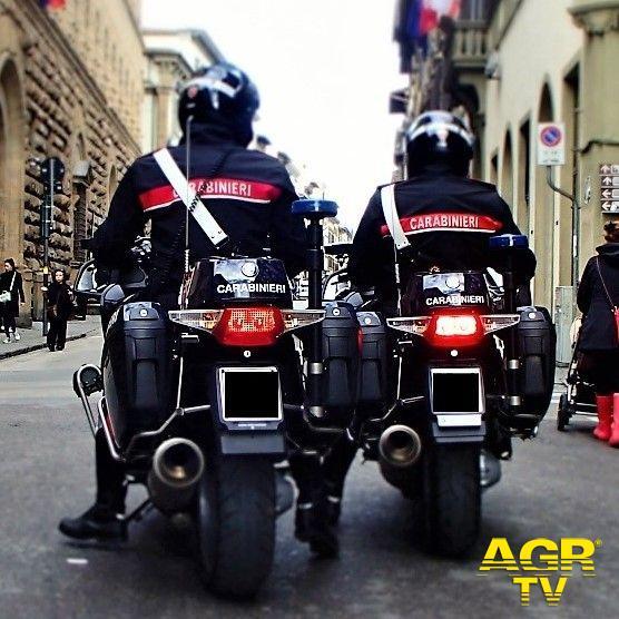 Carabinieri-Comando provinciale di Firenze Signa. Tira fuori una pistola priva di tappo rossa in una lite per questioni di viabilità