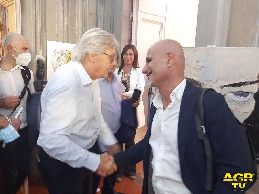 Carlo Alberto Perillo con Sgarbi