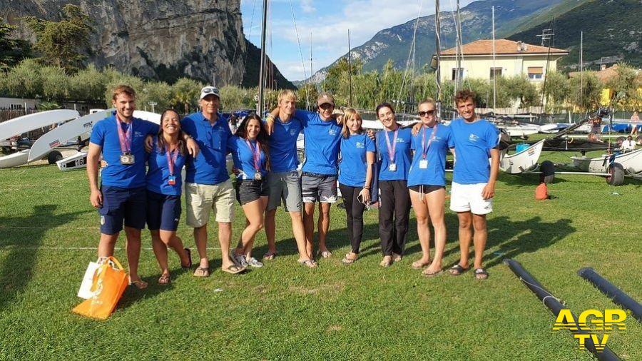 Team hobie cat 16 del Tognazzi Marine Village ad Arco