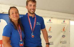 Lorenzo Rossi e Diana Rogge campioni d'Italia assoluto