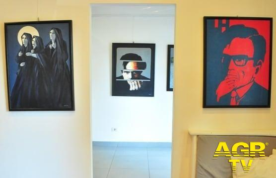 sala esposizione Artheka 32