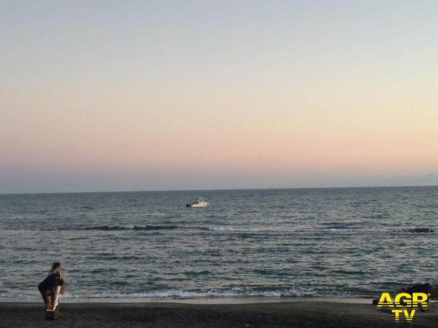 il mare la sera del 31 agosto
