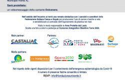 locandina presentazione iniziativa porto turistico Roma
