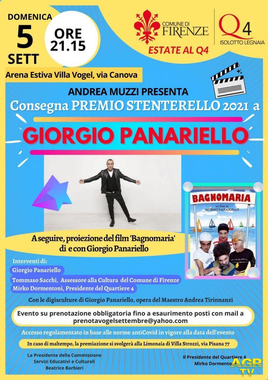 Comune di Firenze Firenze. Premio Stenterello a Giorgio Panariello