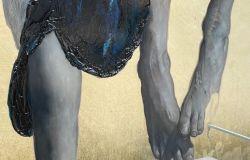 Al Museo Laboratorio della Mente ASL Roma 1: Taglio del nastro per ANIMA NERALBA, la nuova opera di Gomez