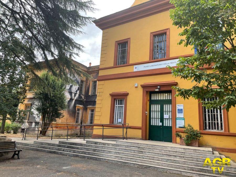 FACCIATA MUSEO LABORATORIO DELLA MENTE