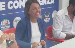 Monica Picca e Matteo Salvini