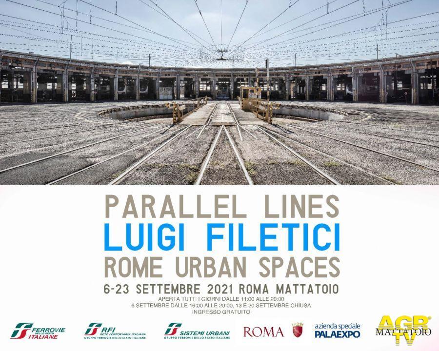 """Roma, al via al Mattatoio la mostra fotografica """"Parallel Lines"""" sulle aree ferroviarie della città"""