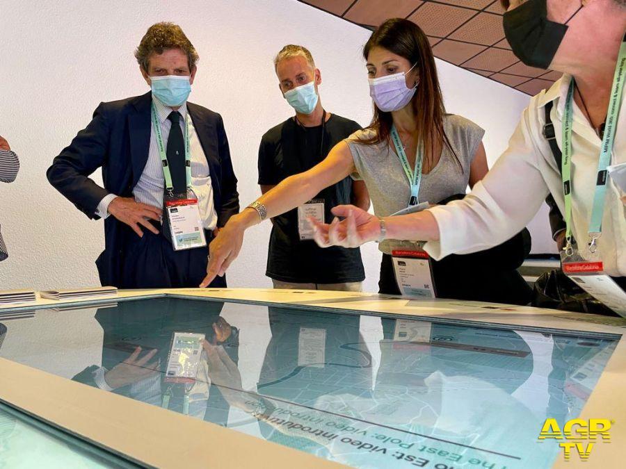 Presentazione progetti Roma al MIPIM Virginia Raggi