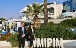 Virginia Raggi al MIPIM di Cannes