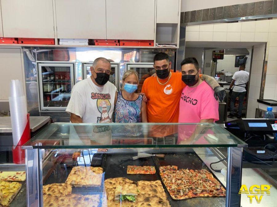 Fiumicino, pizzeria al taglio  Sancho