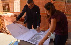 Pomezia: Piazza Indipendenza e largo Catone, partiti i lavori di riqualificazione e abbattimento delle barriere architettoniche