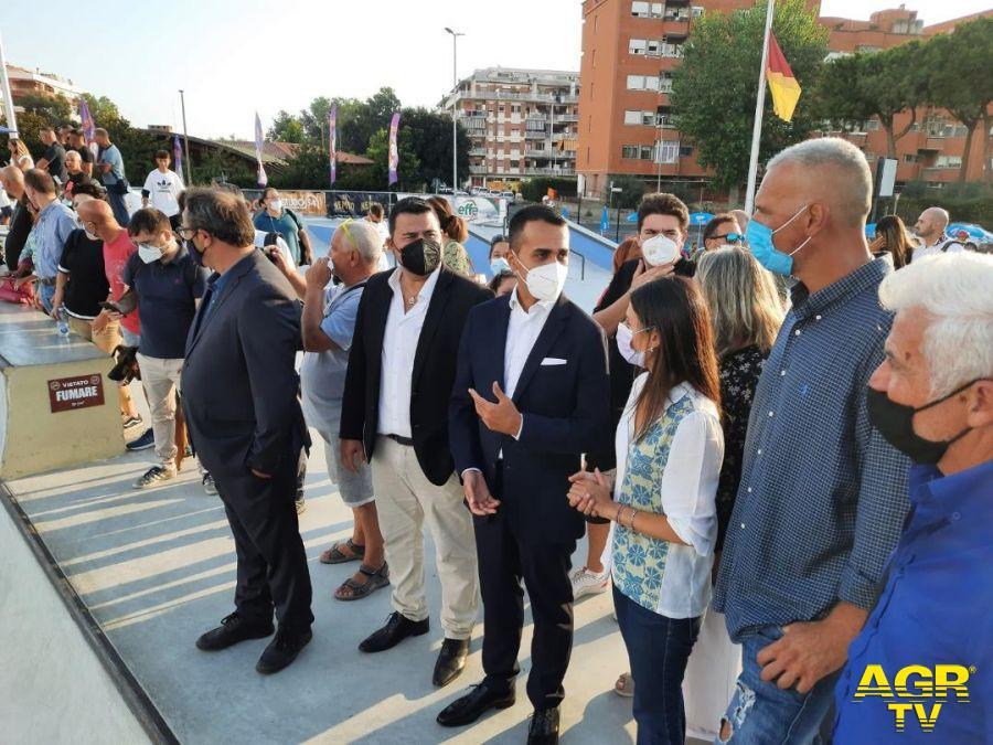 Municipio X, Virginia Raggi ha inaugurato la sua campagna elettorale ad Ostia