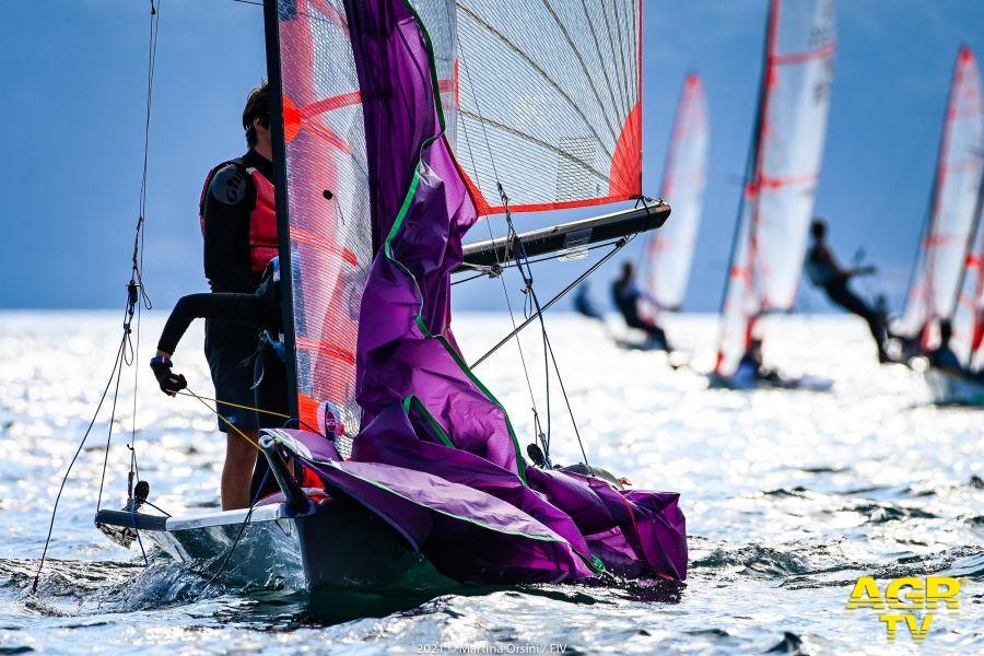 vela campionati giovanili lago di Como in doppio