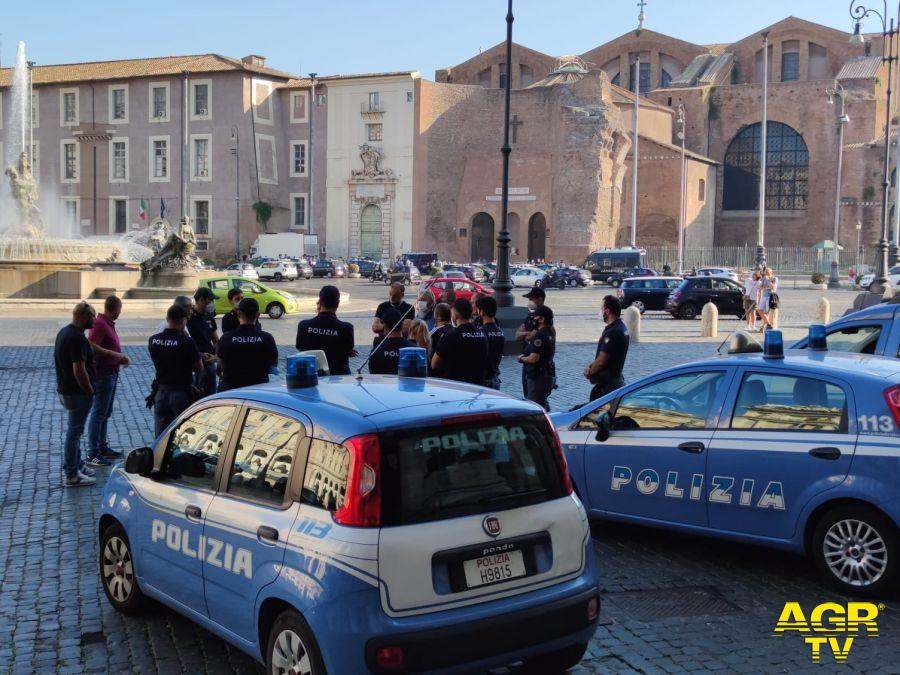 polizia piazza esedra