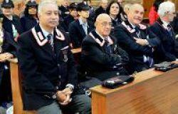 il presidente Libertini durante una cerimonia