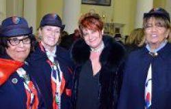 le donne carabiniere dell'associazione