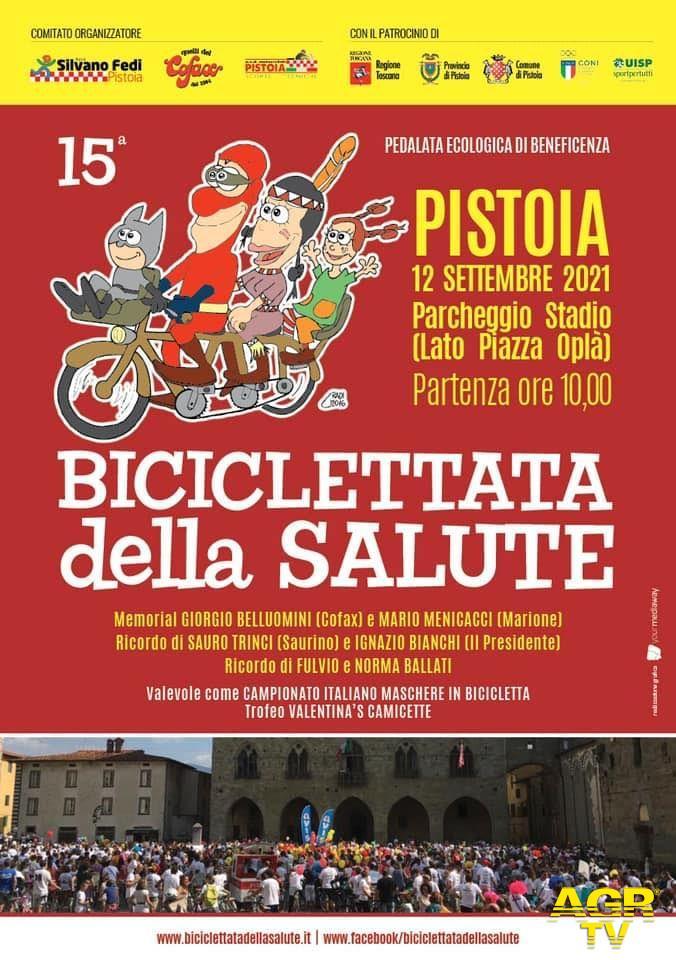 """Comune di Pistoia Pistoia. Domenica la """"Biciclettata della Salute"""": come cambia la viabilità"""