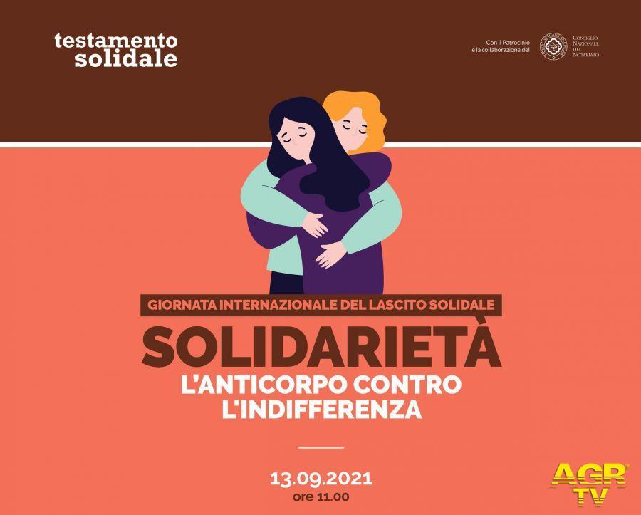 """Solidarietà, l'anticorpo contro l'indifferenza""""."""