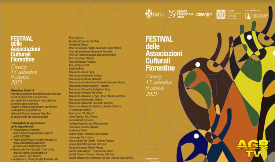 Non-profit in provincia di Firenze La Settimana delle Associazioni Culturali diventa Festival. Un mese di appuntamenti per un'edizione allargata della manifestazione