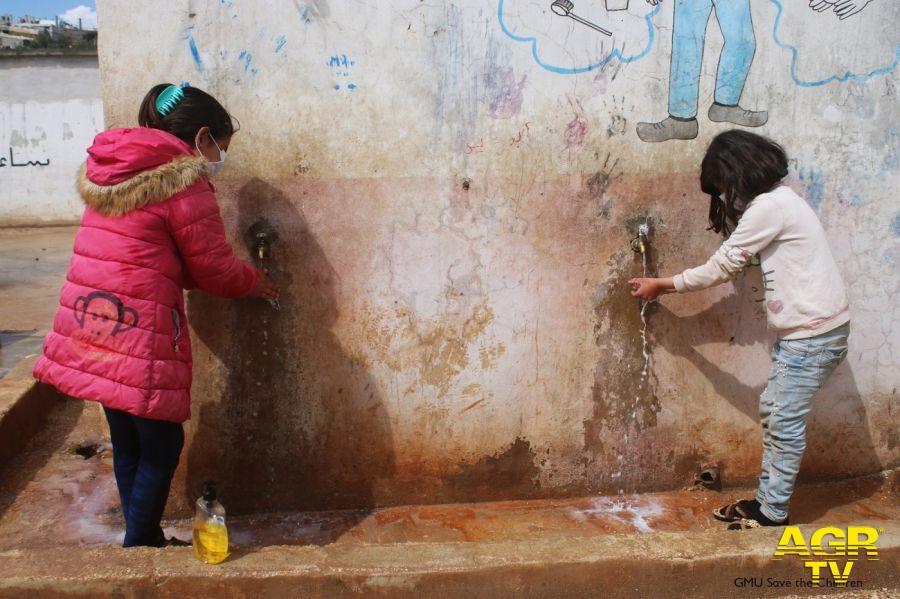 Coronavirus paura nei campi profughi - Foto GMU Save the Children