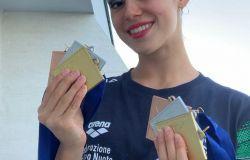 Ginevra Marchetti conquista l'oro ai campionati europei di nuoto sincronizzato e riporta in Italia la Coppa Comen