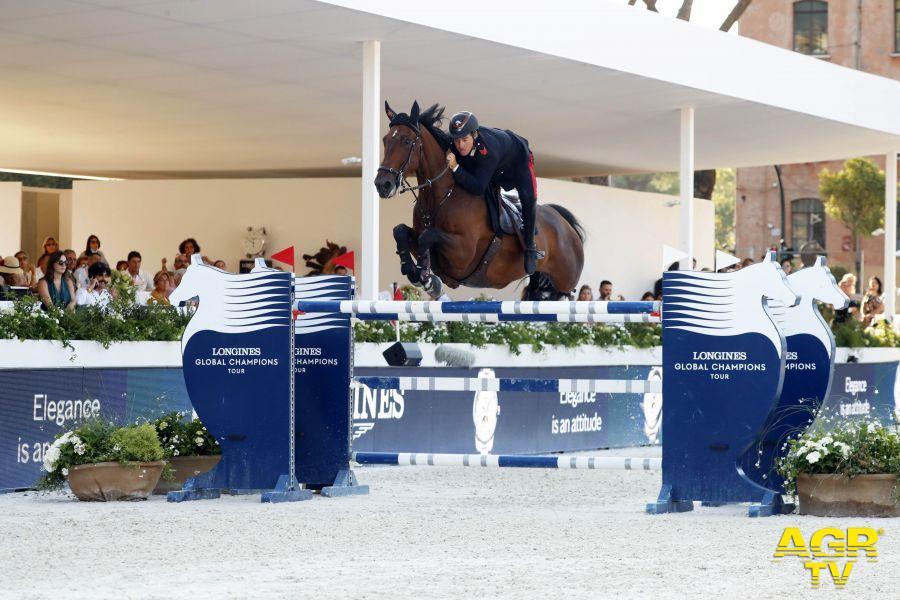 Equitazione, al Circo Massimo, nel Global Champions Tour brillano Piergiorgio Bucci ed Emanuele Gaudiano