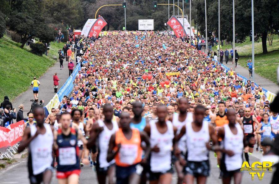 Partenza mezzamaratona RomaOstia 45° edizione