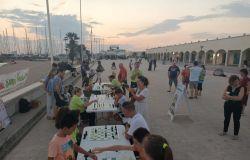 scacchi in riva al mare angolo un mare di sport