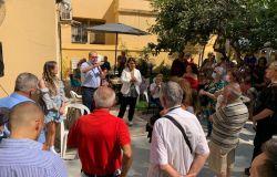 Bordoni presenta la Picca nel suo ufficio elettorale ad Ostia