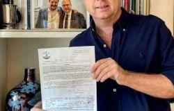 Bordoni firma la candidatura al consiglio comunale