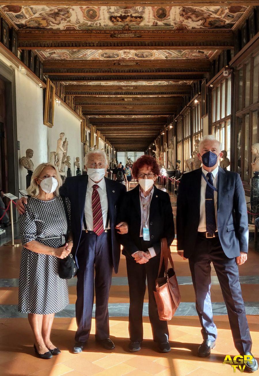 Musei Statali G20 Agricoltura, delegazione Messico in visita agli Uffizi