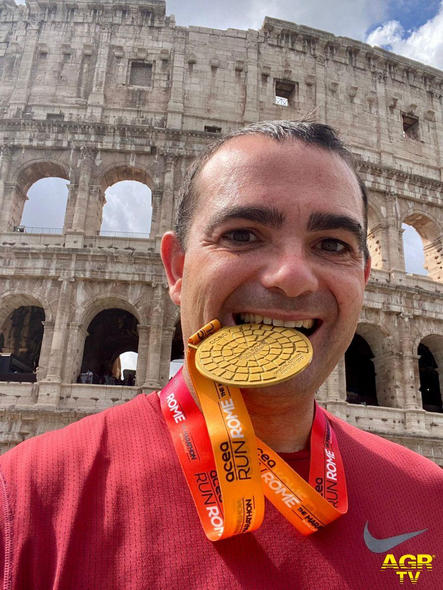 Il Rotary International Distretto 2080 e Rotary Club Ostia per la Maratona di Roma