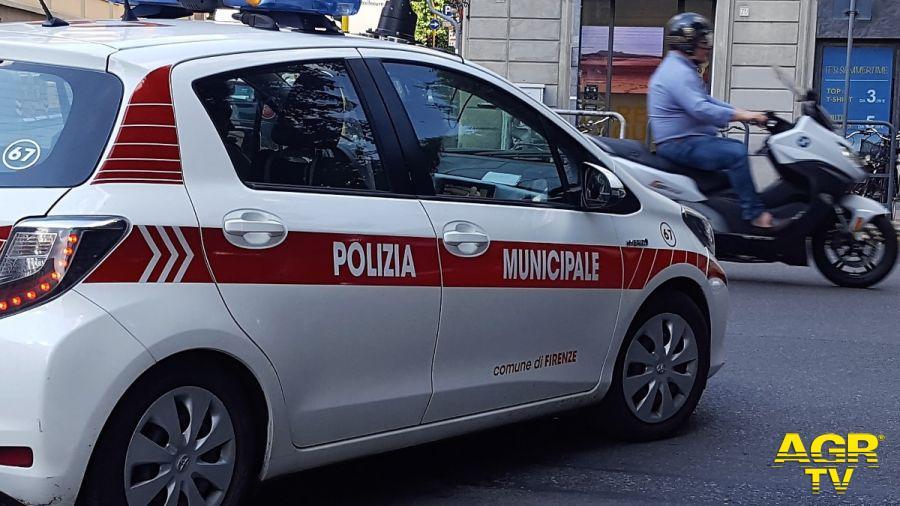 Agenti della Polizia Municipale di Firenze