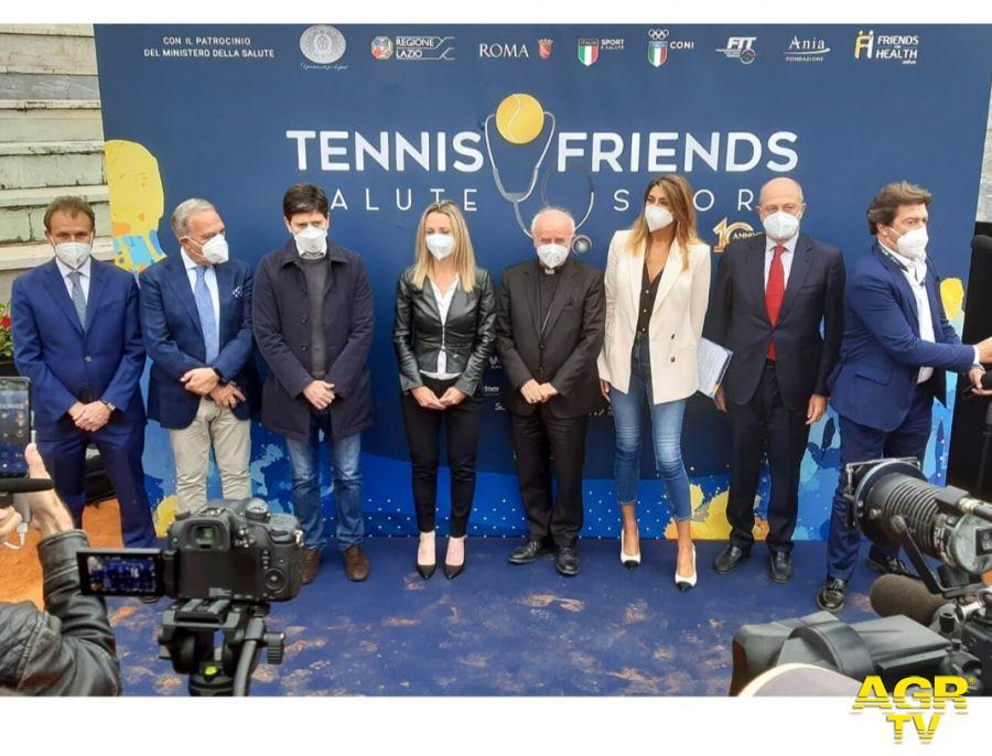 TENNIS & FRIENDS  Salute e Sport Manifestazione Nazionale di Prevenzione