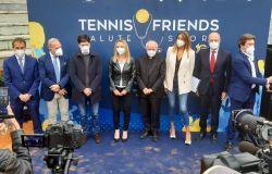 TENNIS & FRIENDS  Salute e Sport Manifestazione Nazionale di Prevenzione  Official Charity delle Nitto ATP Finals di Torino 2021
