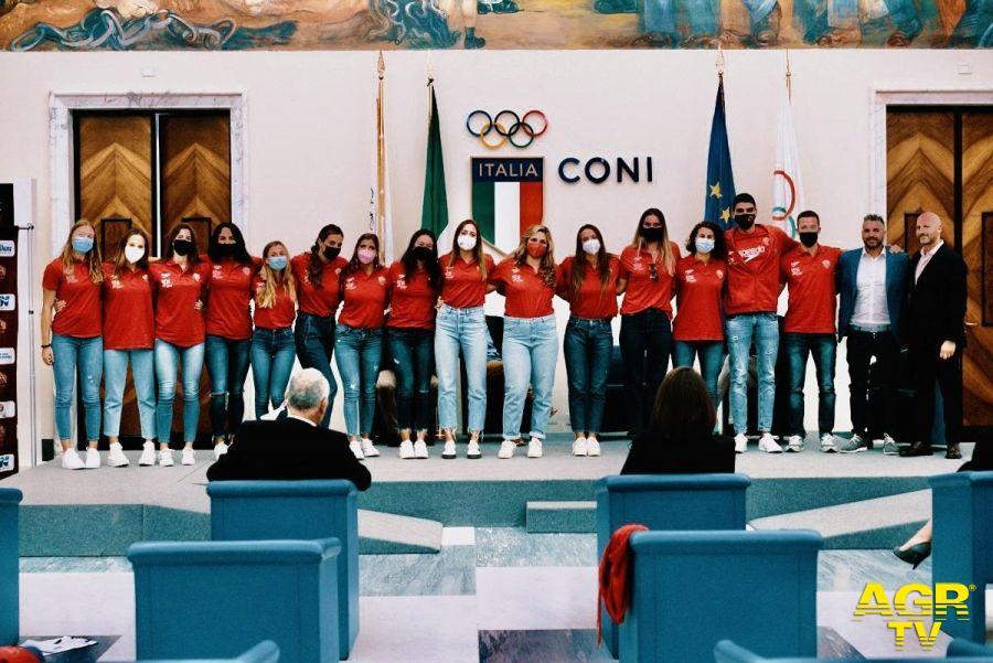 Presentazione Sis Roma al salone d'onore del Coni