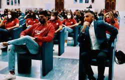 presentazione salone d'onore allenatore Marco Capanna