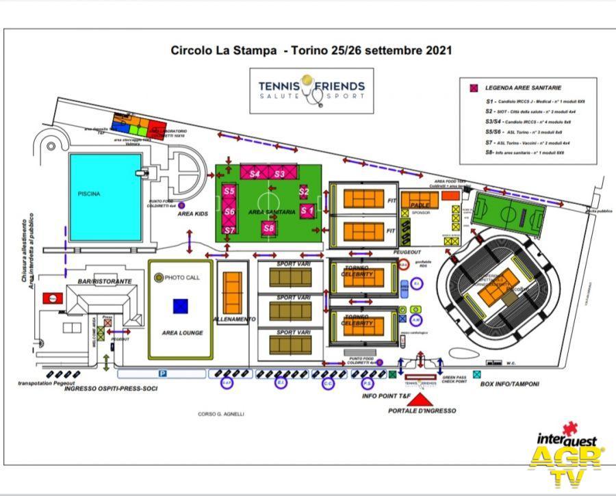 Tennis and Friends - Salute e Sport  Torino 2021