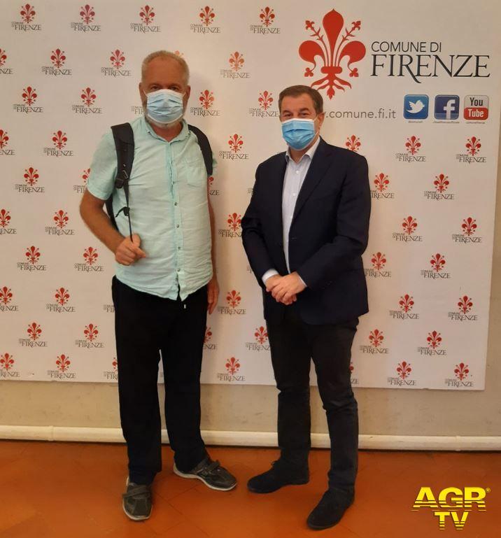 Comune di Firenze Da Treviso a Roma a piedi per la sicurezza stradale