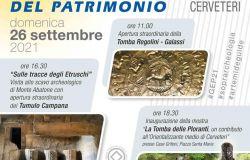 Giornate Europee del Patrimonio: aperture straordinarie della Tomba Regolini – Galassi, del Tumulo Capanna e di una nuova mostra a Case Grifoni