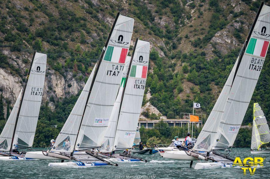 vela campionati nazionali classi olimpiche sul Garda