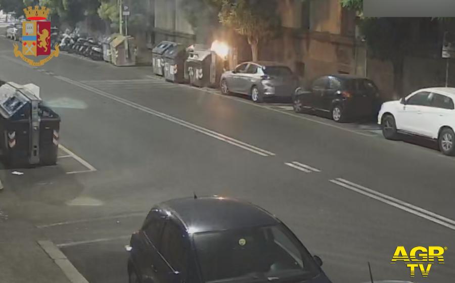 Roma. 3 piromani fermati dalla Polizia di Stato