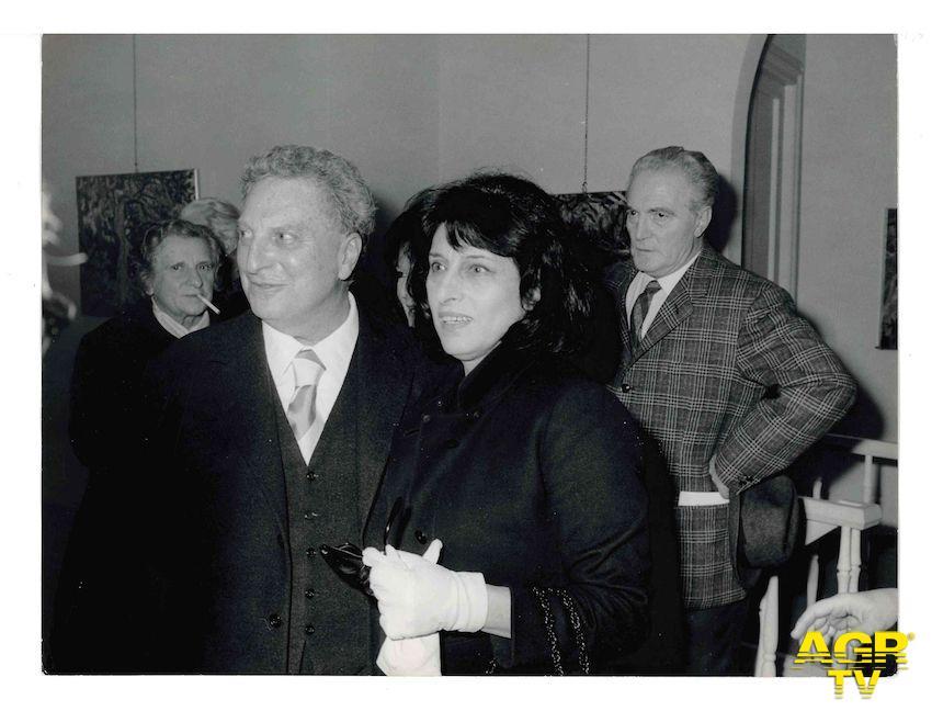 Carlo Levi con Anna Magnani