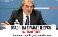 Smart Working PA, Draghi firma il decreto