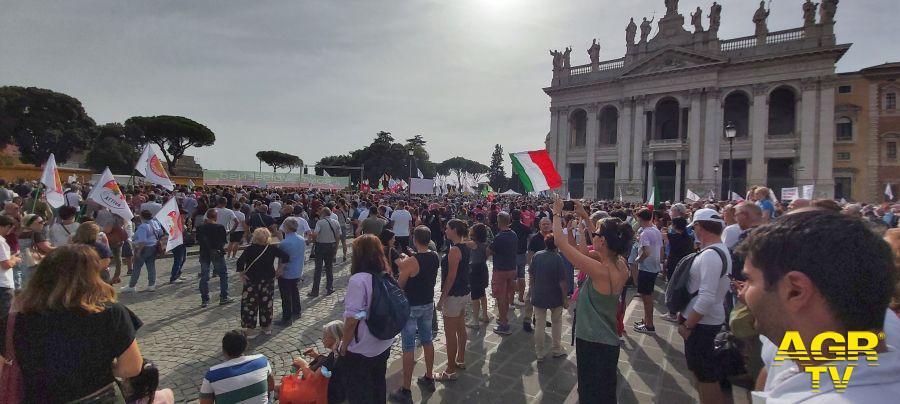 Roma Piazza San Giovanni ore 15