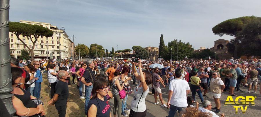 Oltre 50.000 persone a Roma