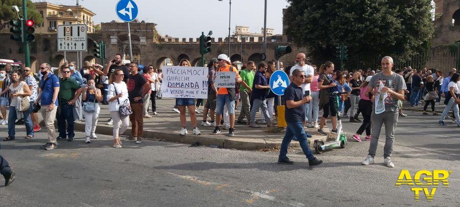 Manifestazione Nazionale contro Green Pass