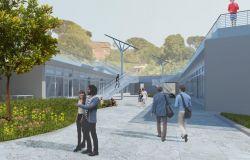 progetto facoltà di architettura al Borghetto Flaminio