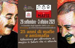 """A Gazoldo degli Ippoliti (Mn) dal 26 settembre al 3 ottobre 2021, al via """"Raccontiamoci le mafie"""""""